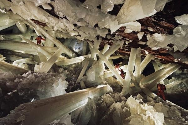 Cueva de los Cristales, México