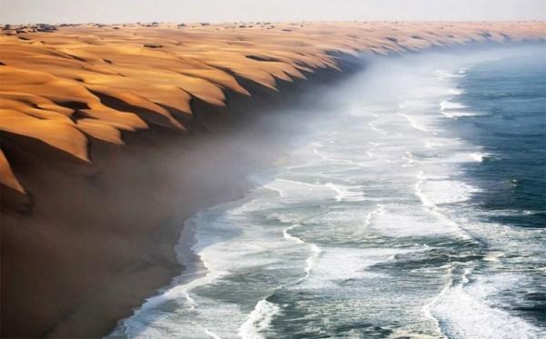 desierto de namibia sin photoshop