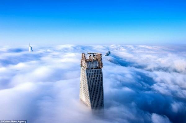 dubai desde las nubes