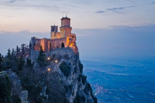 El castillo Guaita, San Marino