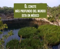 El cenote más profundo del mundo. El Zacaton, Aldama, Tamaulipas