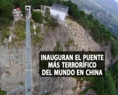 puente más terrorífico del mundo