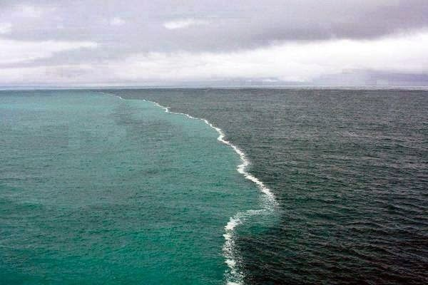 El encuentro de dos océanos en el Golfo de Alaska