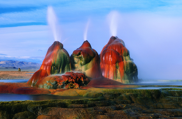 fly geyser nevada estados unidos