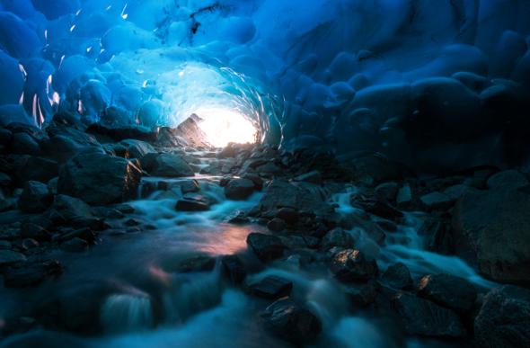 glacier mendenhall alaska