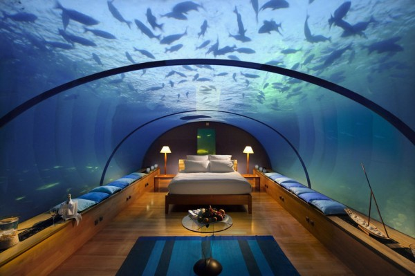 habitacion Conrad Maldives Rangali Island en las Maldivas