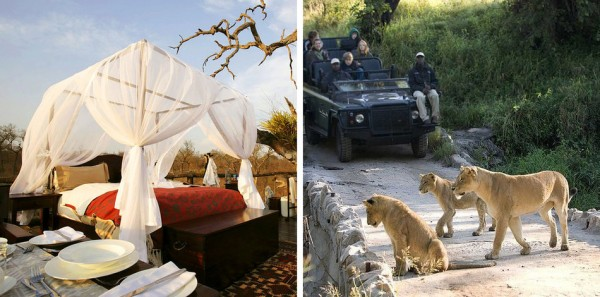habitacion Lion Sands Game Reserve en Sudáfrica