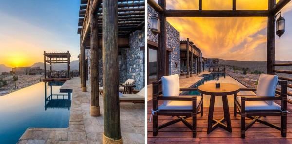 habitaciones Alila Jabal Akhdar Resort en Nizwa, Omán