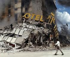 hoteles derrumbe terremoto mexico 1985