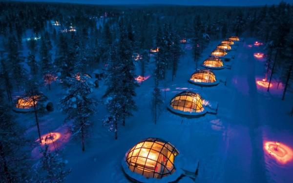hoteles iglu finlandia
