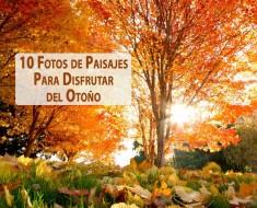 fotos de paisajes de otoño hermosos