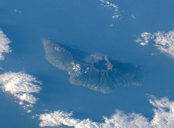 isla la palma canarias desde el aire