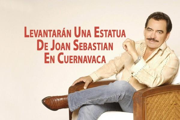 Levantarán Una Estatua De Joan Sebastian En Cuernavaca
