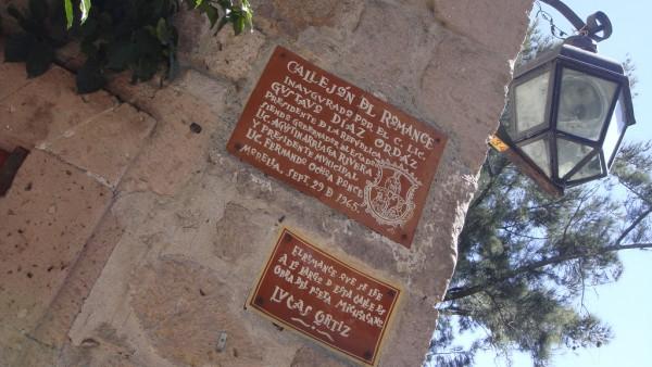 leyenda del callejon del romance morelia michoacan