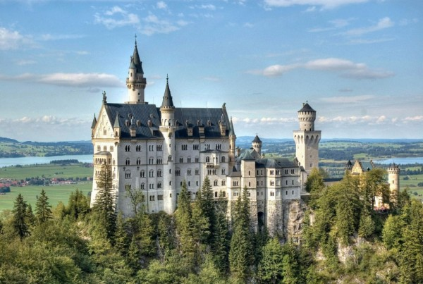 castillo de neuschwanstein fotos