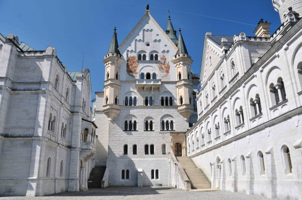 castillo neuschwanstein interior