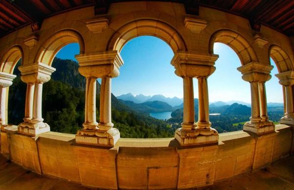 neuschwanstein castillo panoramica