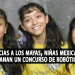 Gracias a los mayas, niñas mexicanas ganan un concurso de robótica