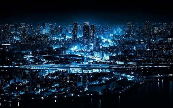 osaka imagenes de noche