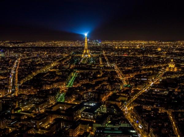 paris imagenes de noche