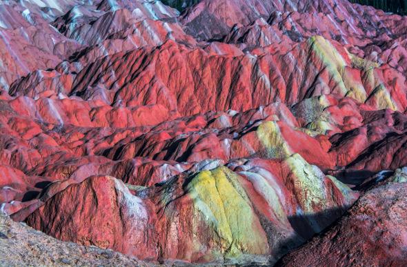 parque geologico zhangye danxia china