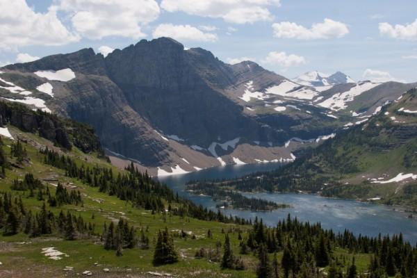 parque nacional los glaciares montana eeuu