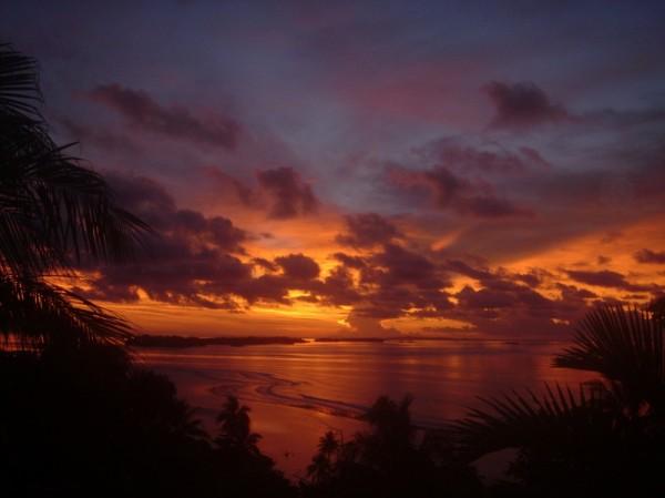 parte oriental de la isla de rennell islas salomon