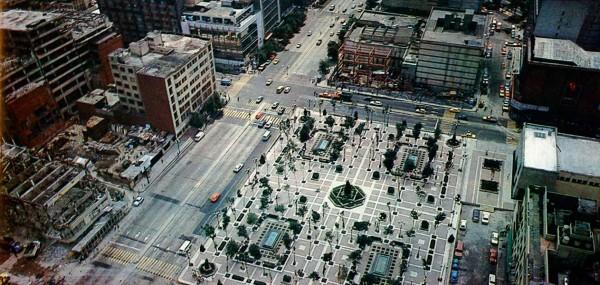 plaza solidaridad terremoto mexico 1985