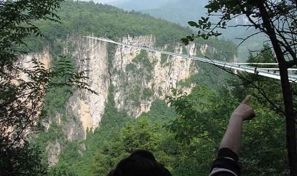 puente de cristal mas largo del mundo shiniuzhai geopark china