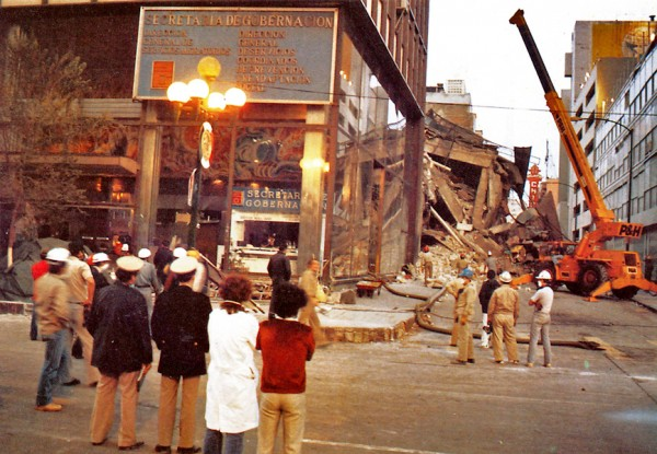 reportaje terremoto mexico 1985
