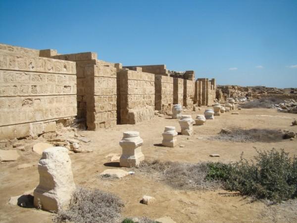 ruinas cristianas de abu mena egipto