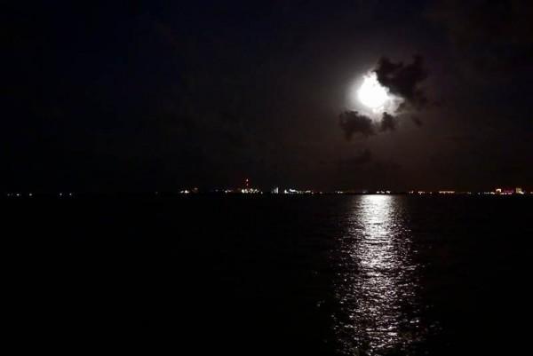 cancun mexico superluna de sangre eclipse bloodmoon