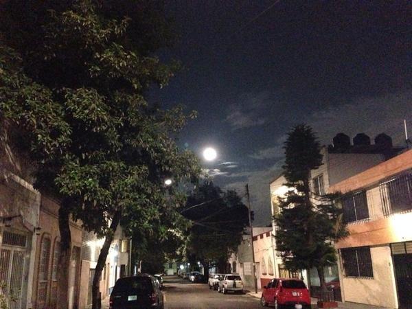 ciudad de mexico superluna de sangre eclipse bloodmoon
