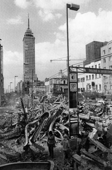 torre latinoamericana terremoto mexico 1985