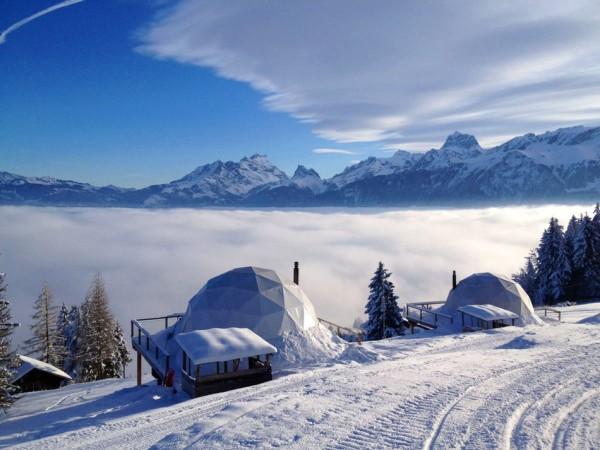 Whitepod Eco-Luxury Hotel, Suiza