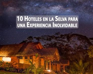 Los 10 mejores hoteles en la selva del mundo