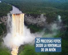 25 preciosas fotos desde la ventanilla de un avión