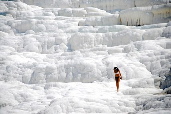aguas termales pamukkale turquia