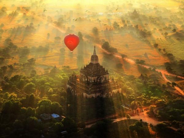 bagan myanmar globos