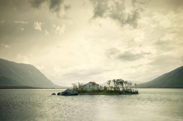 casa solitarias alejadas noruega