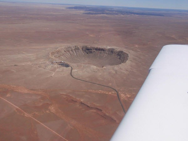crater meteoro winslow arizona