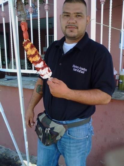 elotes asados san rafael nuevo laredo tamaulipas