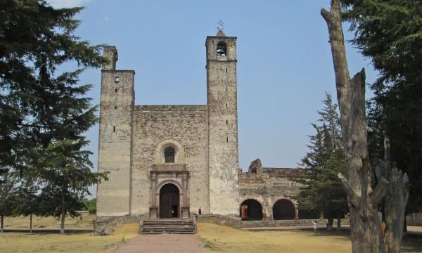 El ex-convento de San Juan Bautista en Cuautinchán, Puebla