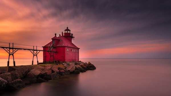 Faro Sturgeon Bay, Wisconsin, USA