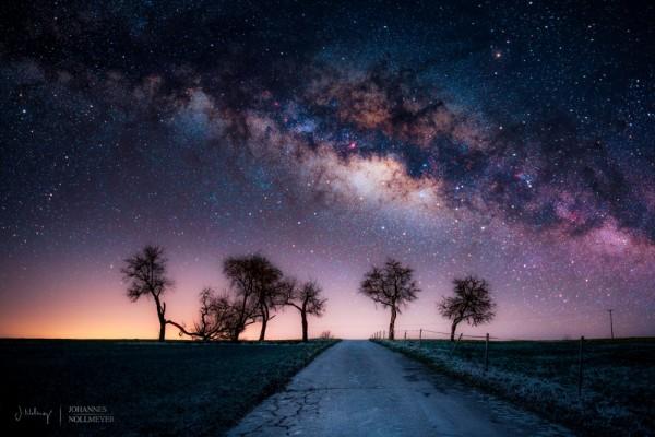 fotos paisajes nocturnos