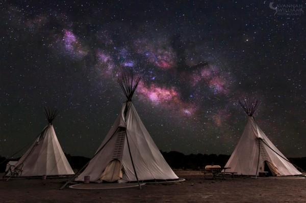 fotos de paisajes nocturnos gratis