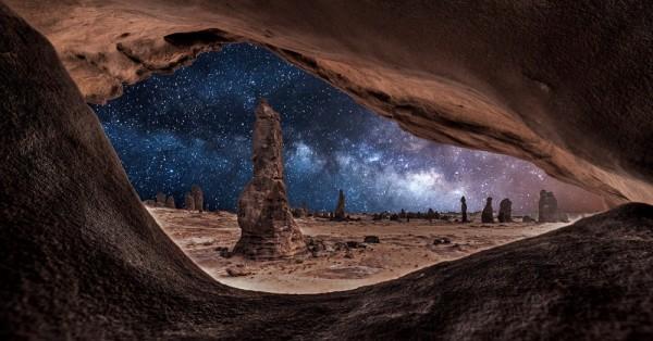 fotos de paisajes naturales nocturnos gratis