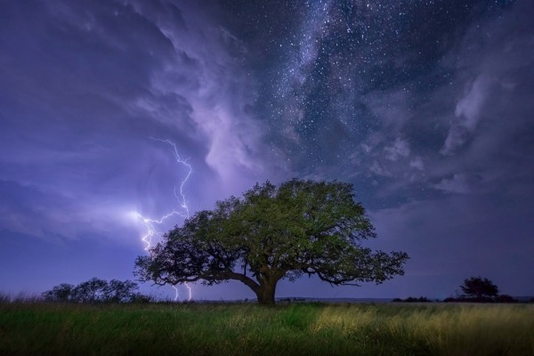 fotos de paisajes nocturnos con tomenta