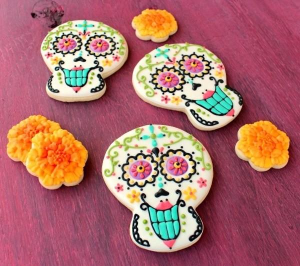 galletas dia de los muertos