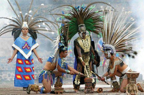 historia arte plumario mexico prehispanico